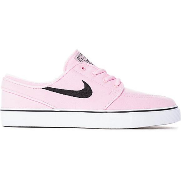 00167a1c49b29a Nike SB Janoski Prism Pink Canvas Skate Shoes. M 5b8075883e0caacfe2dce4fe